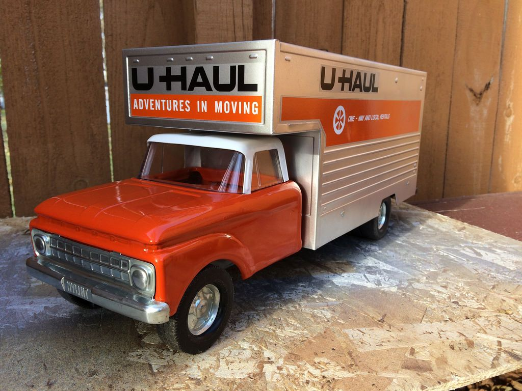 Toy Moving Truck 3960s Nylint U Haul Moving Van Truck My True Addiction