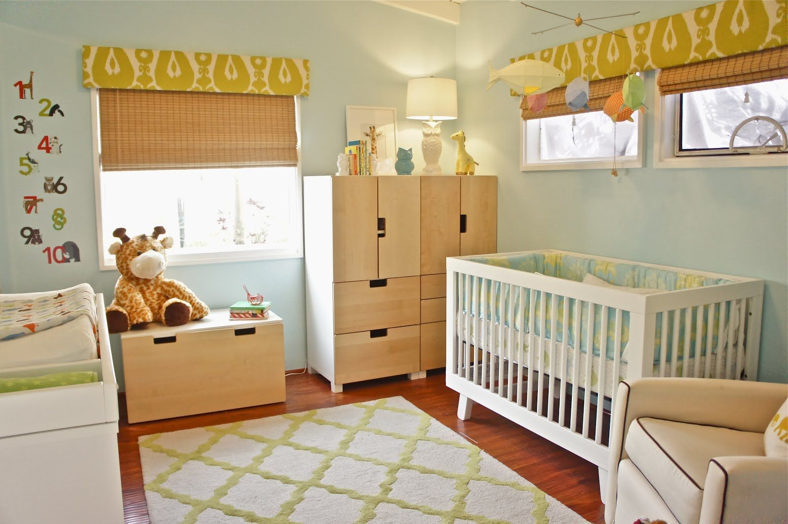 Baby Rooms Ikea Baby Nursery Mix Of White And Blonde Wood Here We
