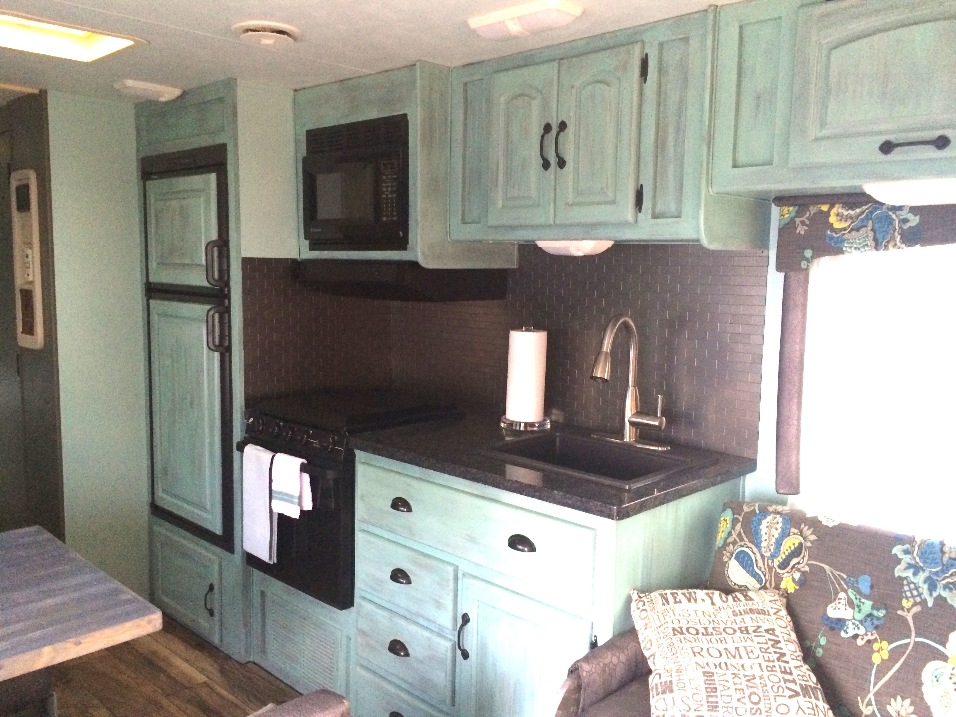 camper bathroom rv kitchen cabinets 25 best ideas about Camper Bathroom on Pinterest Painted bathroom cabinets Painting cabinets and Kitchen cupboard redo