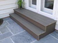 Composite steps | Decks | Pinterest | Patios, Decking and ...
