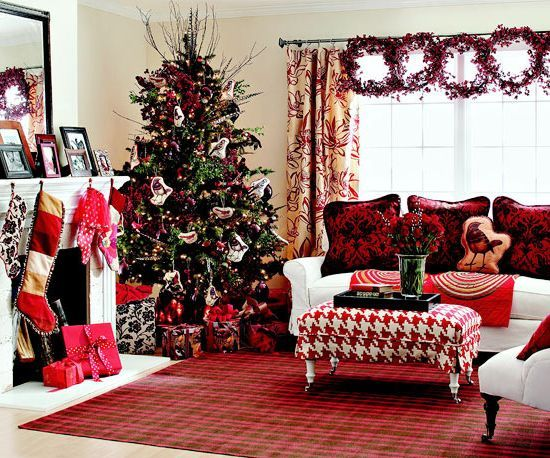 Living Room Big Living Room Chairs Living Room Christmas - christmas room decorations