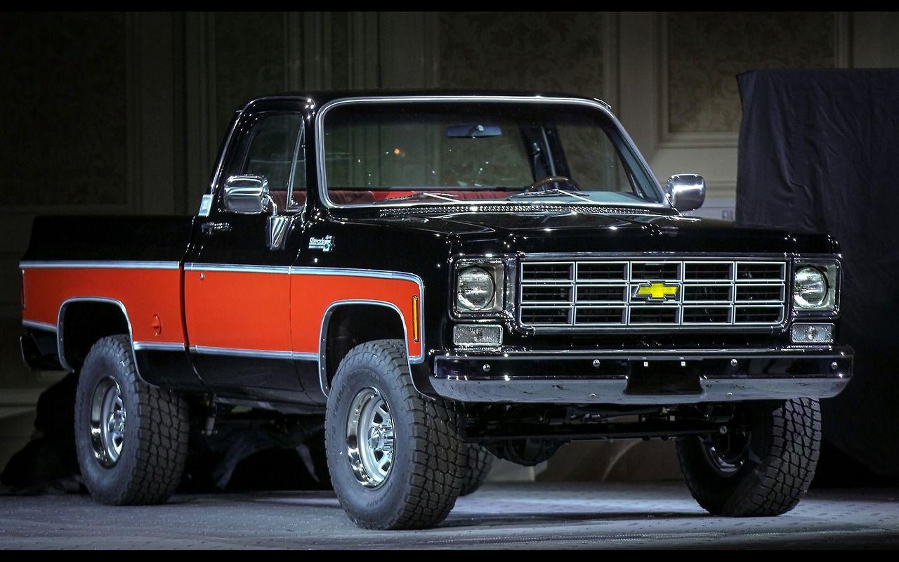2013 chevrolet truck concepts at sema 1978 pickup 2 wallpaper