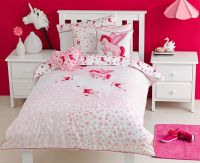 Unicorn bedding collection from Kids Bedding Dreams #