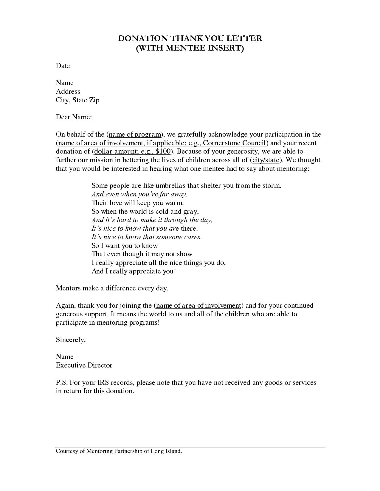 christmas gift letter sample