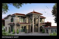 Classic Villa exterior Client : Sheikh KhaledLocation ...