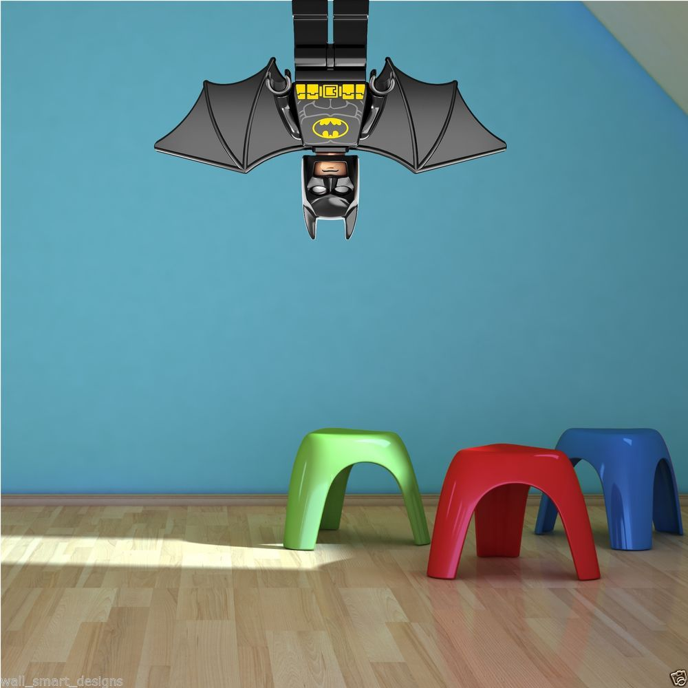 Boys bedroom mural ideas boy bedroom decoration with blue lego batman bedroom