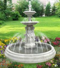Water Fountains, Front Yard and Backyard Designs | Yard ...