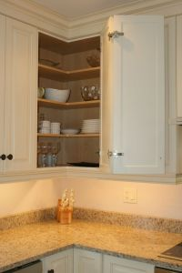 Upper Corner Kitchen Cabinet Storage | Kitchen | Pinterest ...