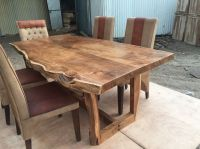 Sundara live edge table | Solid Wood Live edge dining ...