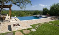 Infinity Pool In New Braunfels Texas | patio pool ...