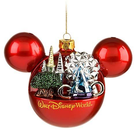 Your WDW Store - Disney Christmas Ornament - Mickey Mouse Ears - disney christmas decorations