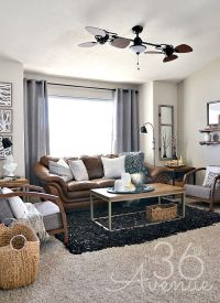 Home Decor - Neutral Living Room   Neutral, Industrial and ...