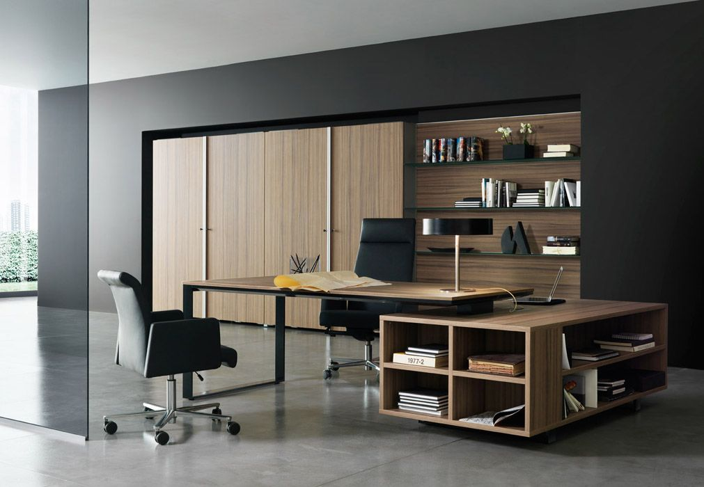 8 Office Decoration Designs For 2017 Executive office, Office - interior design on wall at home