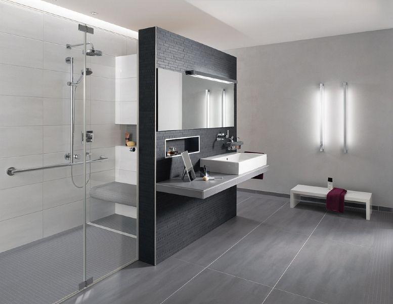 badezimmer fliesen grau weiß beste haus und immobilien - badezimmer hell grauer boden