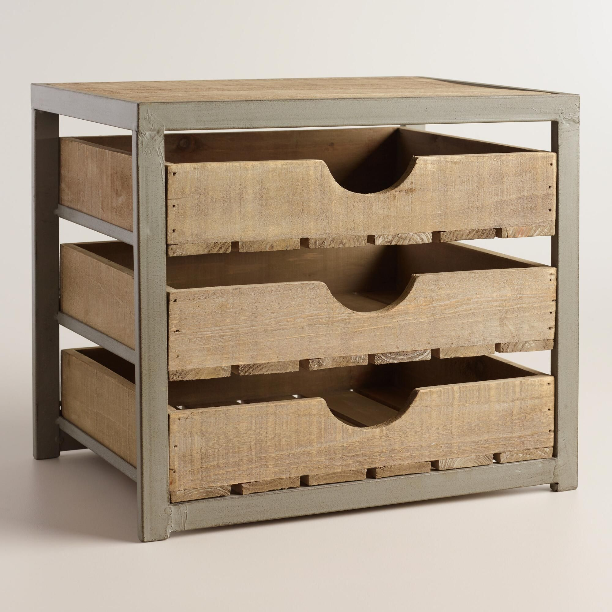 Wooden Drawers Give Your Desktop Storage A Rustic Appeal With Our Apple