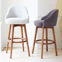 A shapely swivel seat. Inspired by mid-century design, our ...