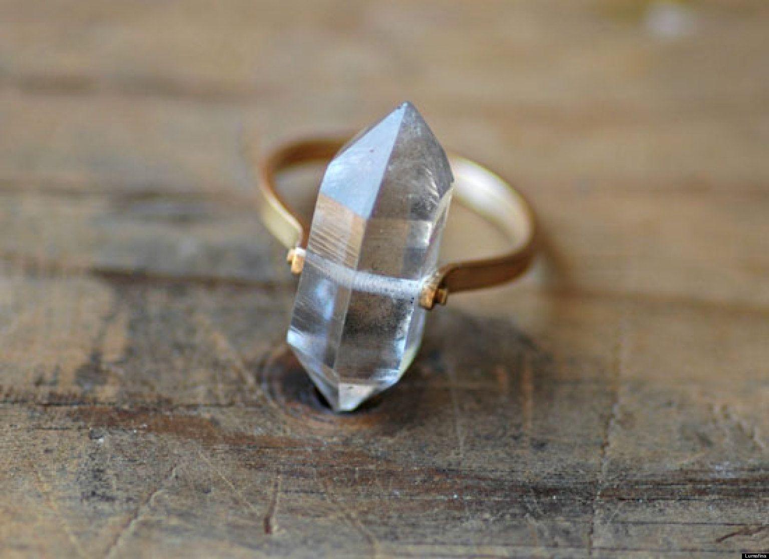 unique wedding ring Unique Engagement Rings To Suit Every Indie Bride PHOTOS
