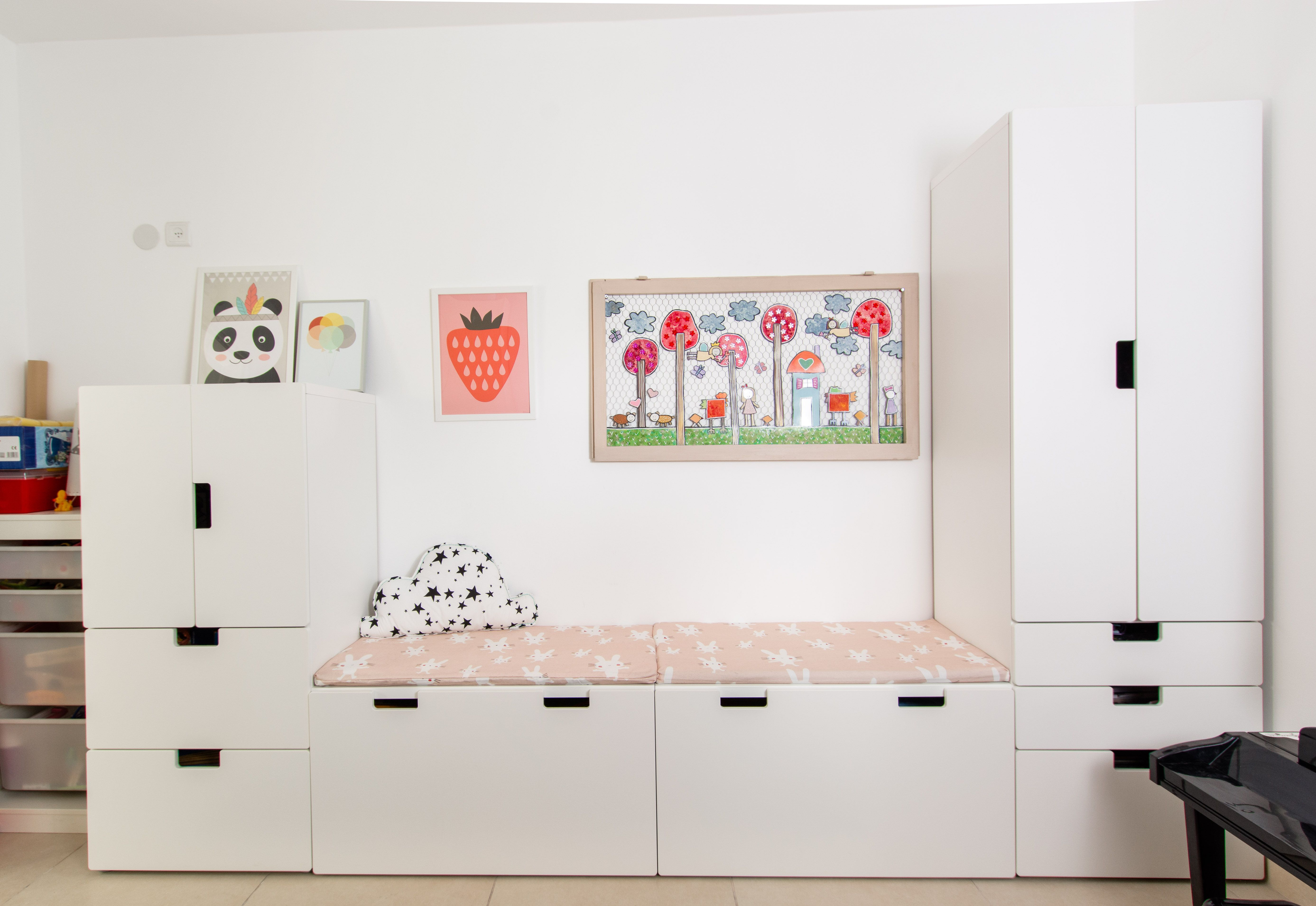 Ikea Hacks Stuva Stuva Ikea Unit Kids Room Storage Play Room Design C4d