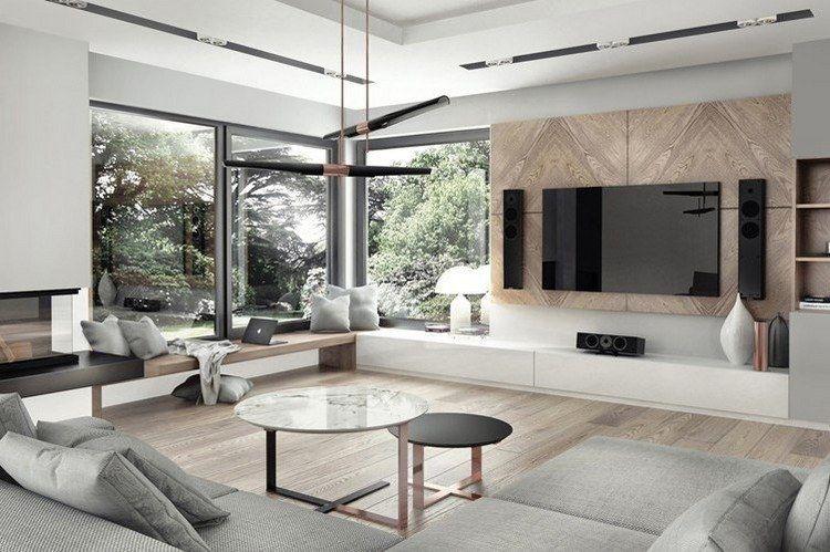 wandgestaltung wohnzimmer mit tapete Beispiele wandgestaltung - wandgestaltung wohnzimmer beispiele