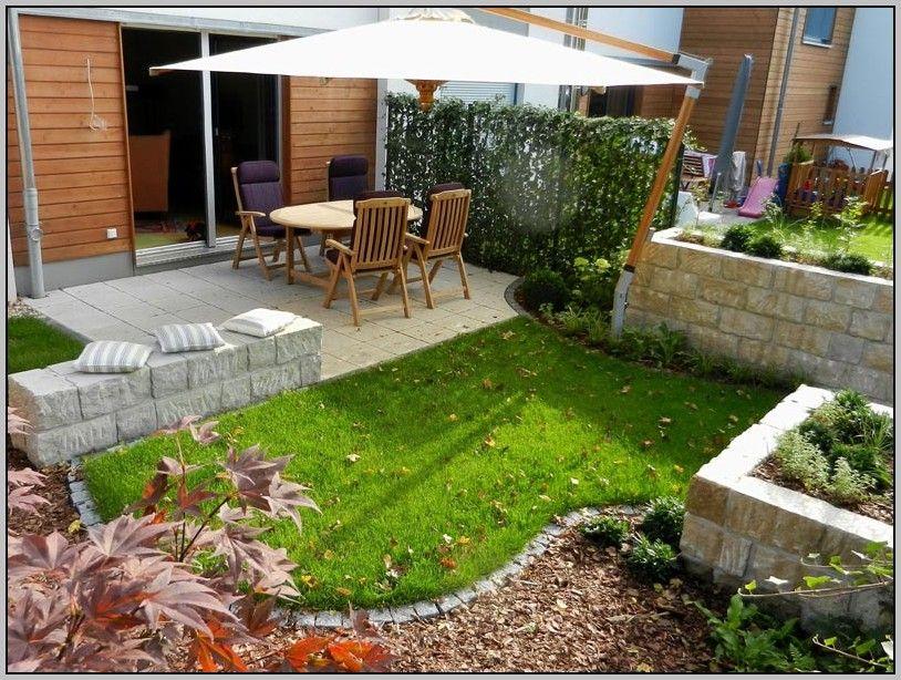 Gartengestaltung Kleiner Garten Sichtschutz Garten Pinterest - gartengestaltung kleine garten