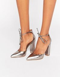 Rotating Bow Tie Watch at ASOS | Pewter, Steve madden and ...