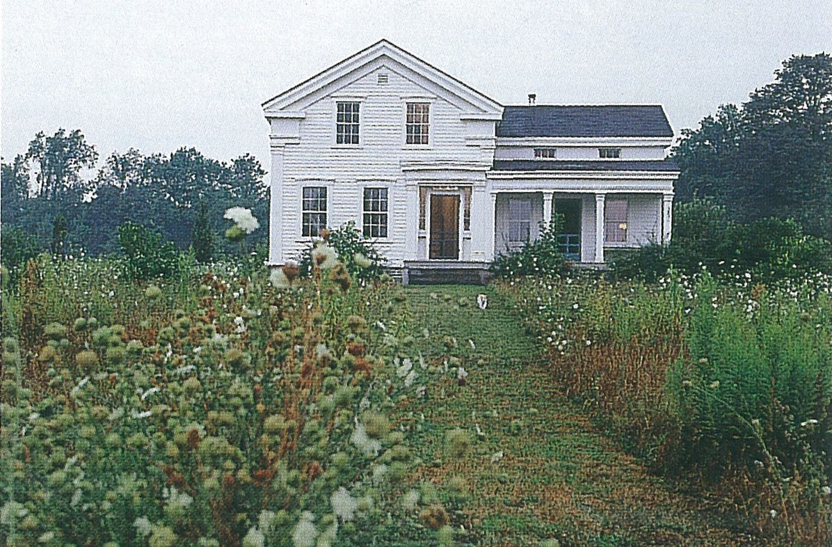 Greek Revival Farmhouse Architecture Circa 1847 Greek Revival Farmhouse Featured In American