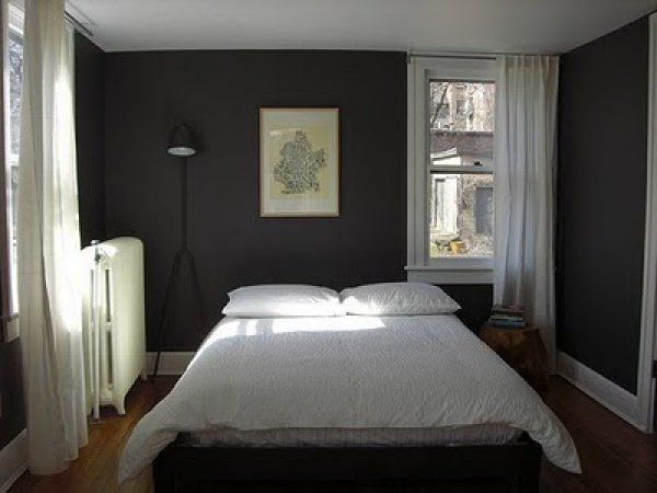 Dark Grey Bedroom Walls Classy Dark Grey Interior Design Home - paint designs for bedrooms