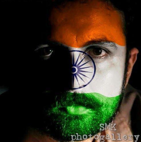 Bhagat Singh Wallpaper 3d Indian Flag Face Paint Indian Flag Face Paint Tiranga