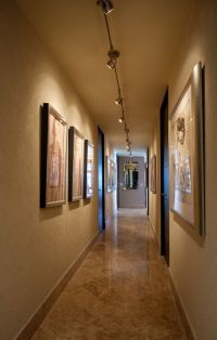 Flexible Led Track Lighting Hall Ideas for Gallery Wall