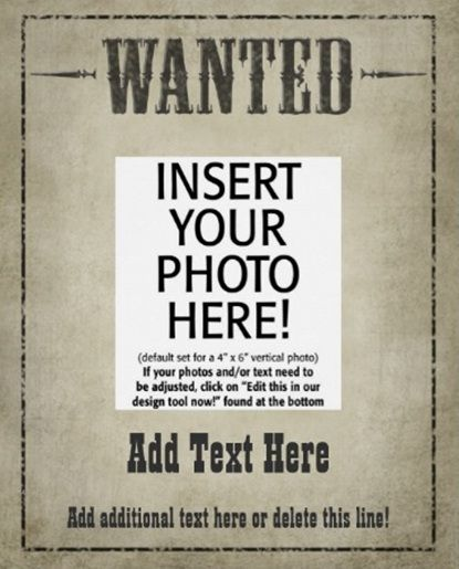 Doc17542481 Free Wanted Poster Template for Kids Wanted – Sample Wanted Poster