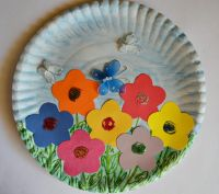 Paper Plate Spring Crafts For Kids | www.imgkid.com - The ...