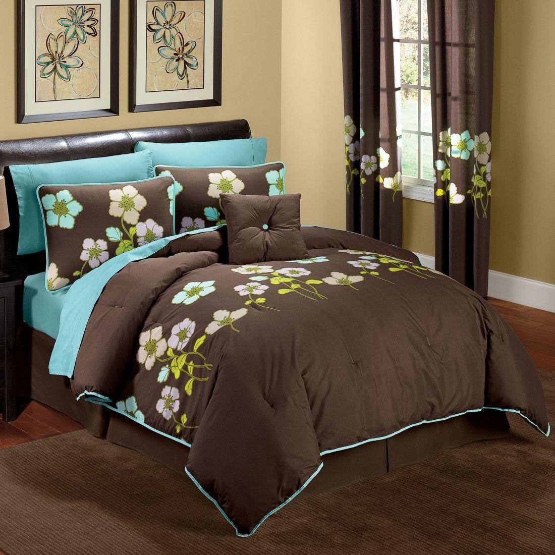 Brown bedroom decorating ideas heavenly brown turquoise bedroom interior design