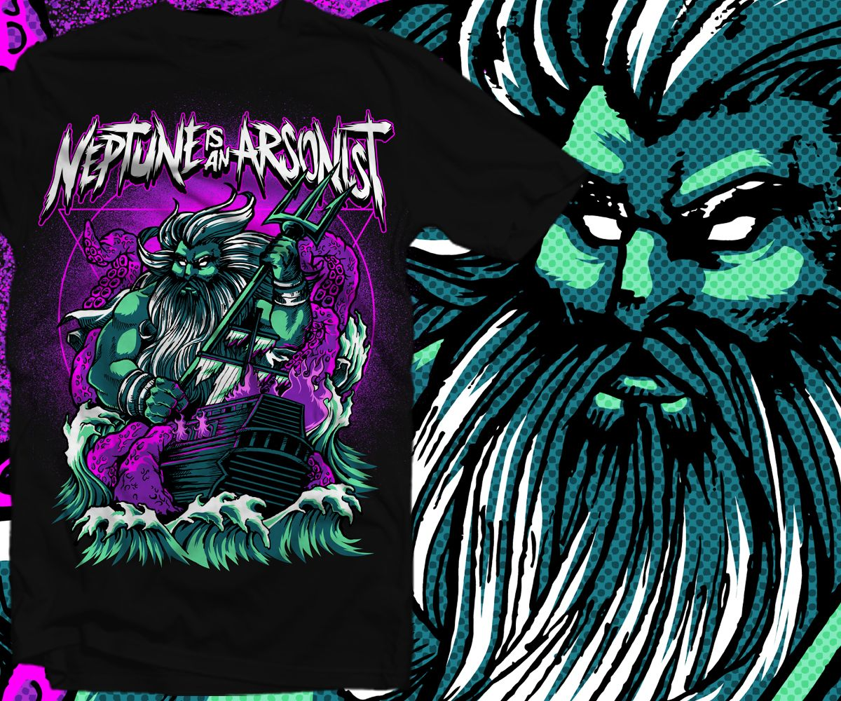 Design t shirt vistaprint - T Shirt Design By Furihando For Post Hardcore Screamo Metal Band Looking For A Tshirt Design