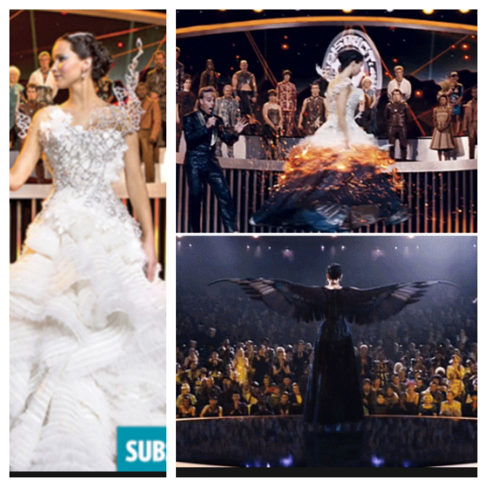 Katniss Everdeen Hochzeitskleid Catching Fire Katniss Mocking Jay Wedding Dress Beautiful