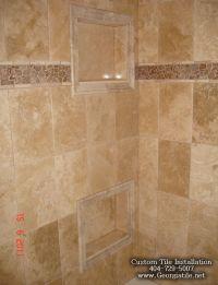 travertine+shower+pictures | Tub Shower Travertine Shower ...
