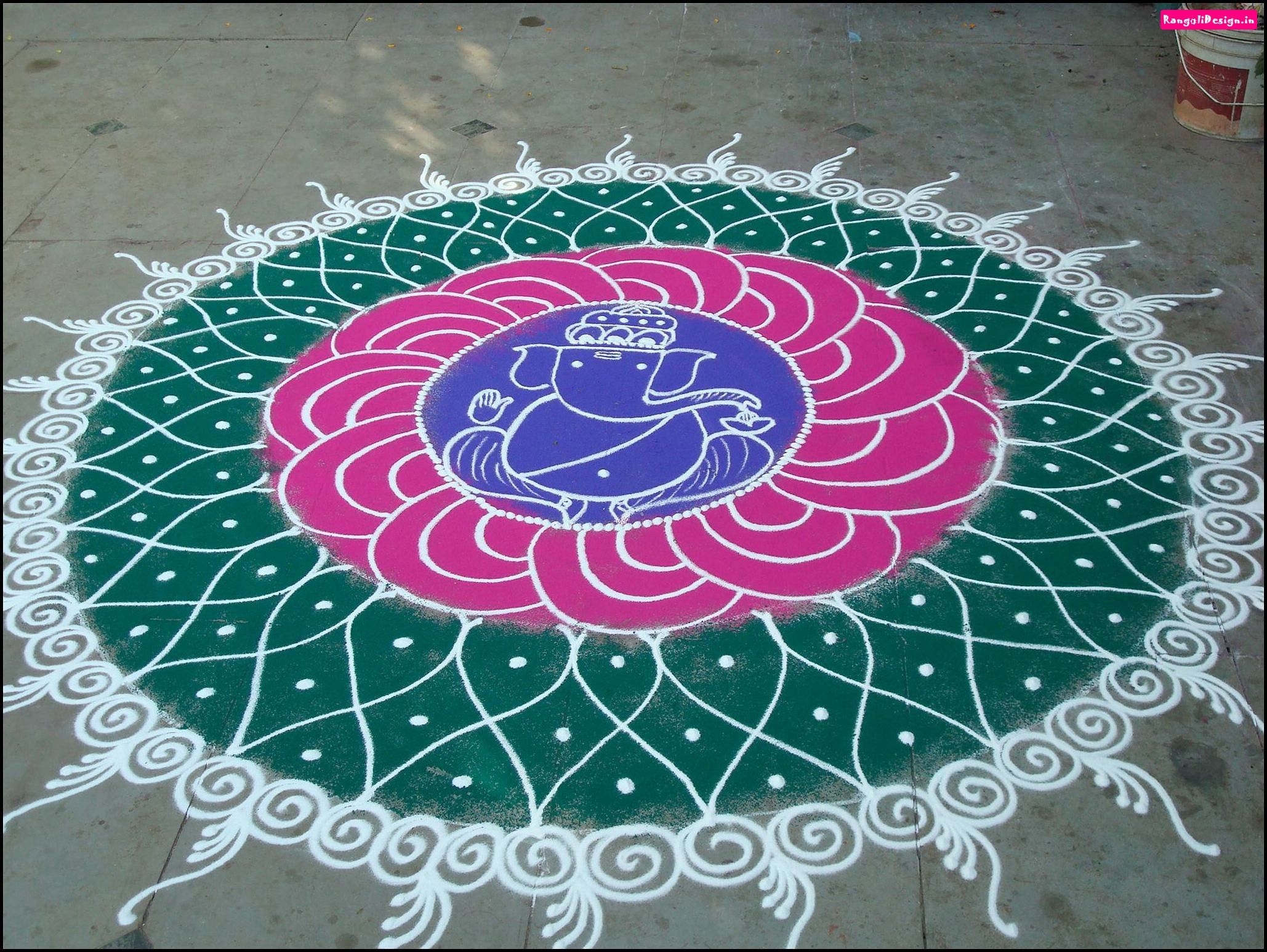 Simple Sanskar Bharti Rangoli Rangoli Designs With Dots For Competition Google Search