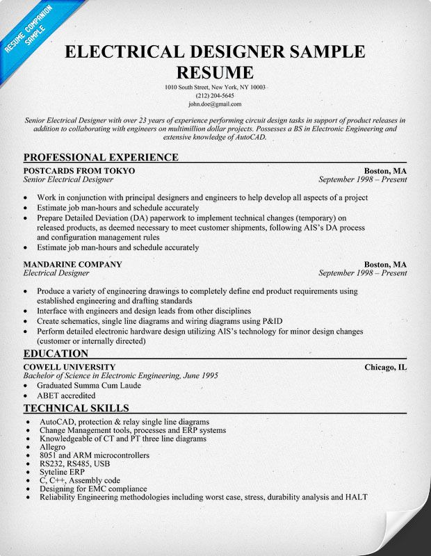 Lovely Electrical Engineering Resume Samples Inspirenow Stepahead Electrical  Engineering Cv Design Engineer Cv Pic Electrical Resume Electrical