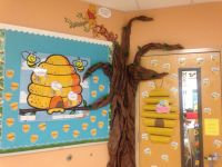Winnie-the-Pooh themed bulletin board for classroom ...