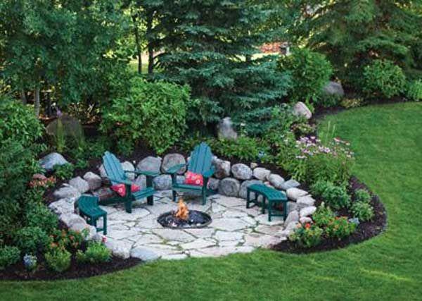 23 Impressive Sunken Design Ideas For Your Garden and Yard - designing your garden