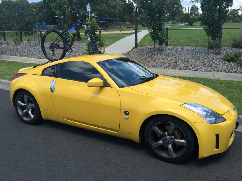 Nissan 350z Bike Rack The Seasucker Talon Seasucker