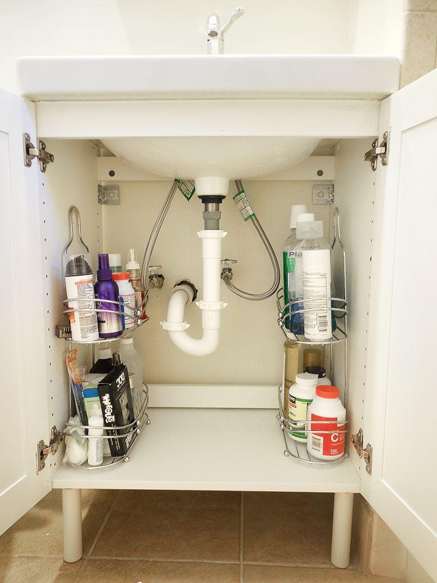 Bathroom Organizers Under Sink organizing under bathroom sink