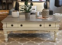 Chalk painted coffee table | Our Refinished Furniture ...