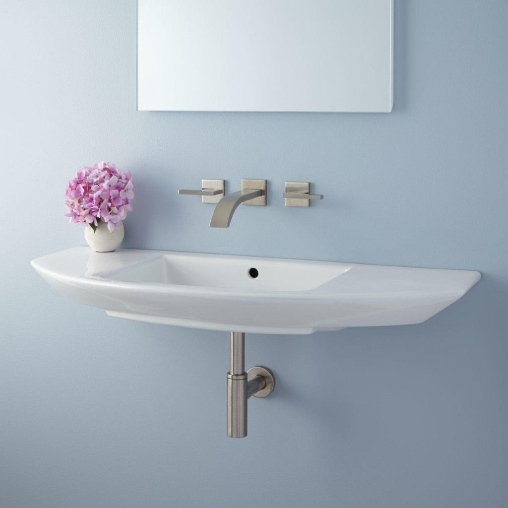 Small Sink For Bathroom Narrow Small Wall Mount Bathroom Sink Installation