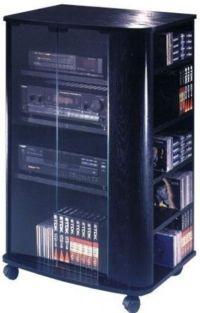 Audio Furniture with Glass Doors | elite el 694 audio and ...
