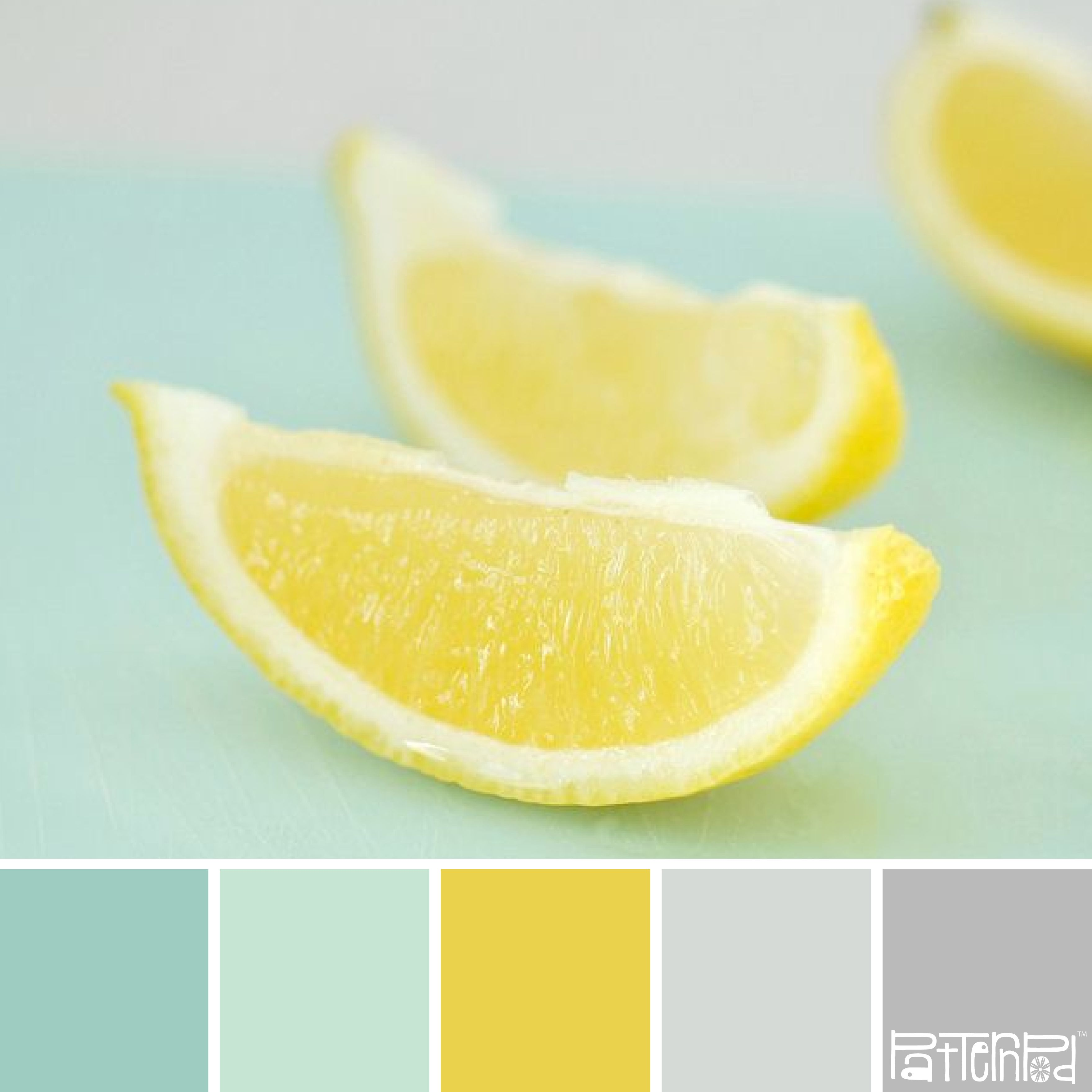 Wandfarbe Mint Kombinieren Lemon Mint Color Palette I 39m In Love With Color Mint Right