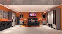 Interior , Unique Garage Design Ideas : Sleek And Neat