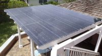 Image of: Solar Pergola Kits | Solar Panels on Pergola ...