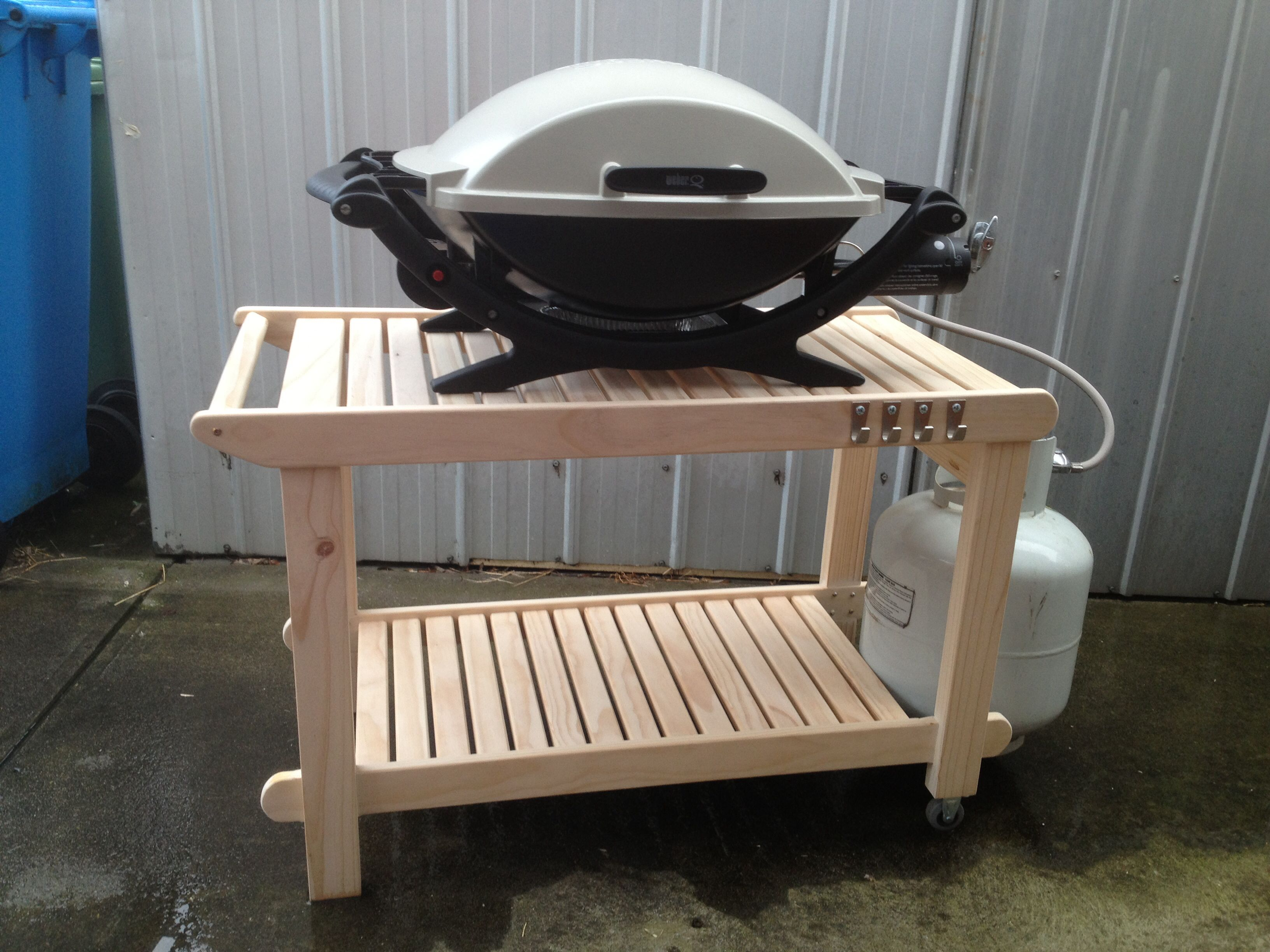 Bekväm Grill Bbq Trolley My Work Pinterest Bbq Table Tables And