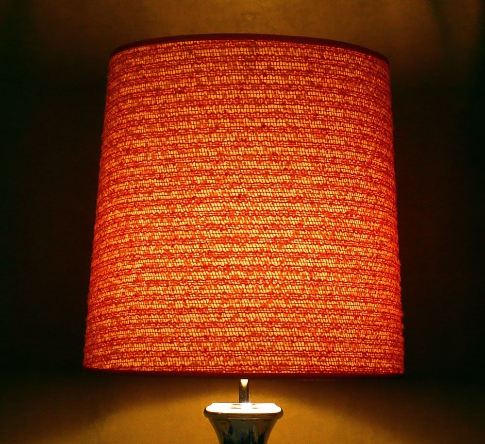 Vintage orange lamp shade google search