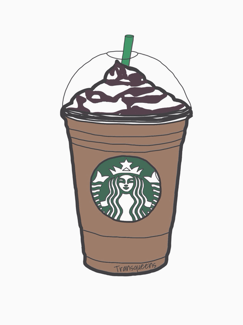 Cute Frappuccino Wallpaper Tumbler Cup Clipart Clipart Kid Backgrounds Clipart